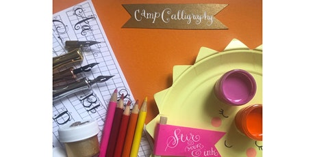 Virtual Camp Calligraphy for Young Artists tickets