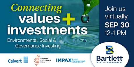 Connecting Values + Investments: Virtual ESG Panel Discussion tickets