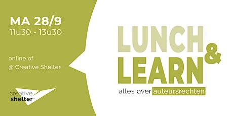 Lunch & Learn - het auteursrecht en zijn fiscale aspecten tickets