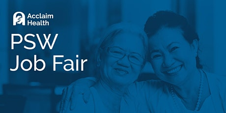 Virtual Job Fair for PSWs tickets