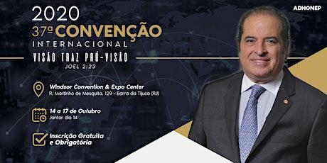 Convenção ADHONEP 2020 ingressos