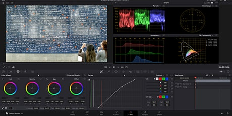 DaVinci Resolve - Introduction to Colour Correction (2x3hrs) tickets