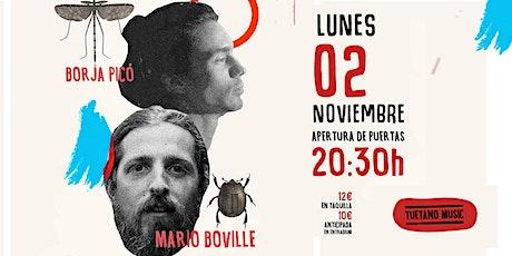 Borja Picó  & Mario Boville en Madrid (Galileo Galilei) entradas
