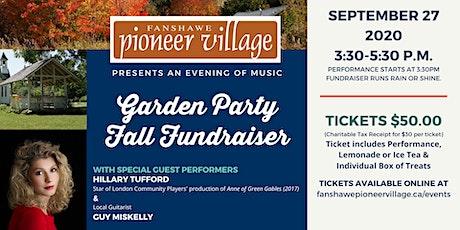 Garden Party Fall Fundraiser tickets