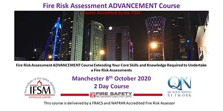 2 Day Advancement Fire Risk Assessment Training Course tickets