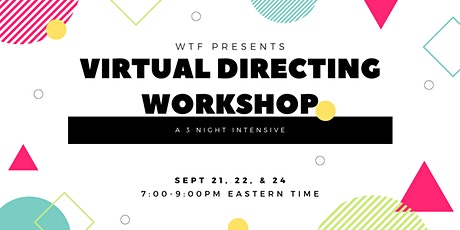 Virtual Directing Workshop tickets