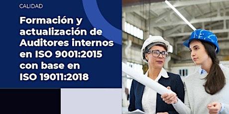 Formación y Actualización de Auditores Internos en ISO 9001:2015 entradas