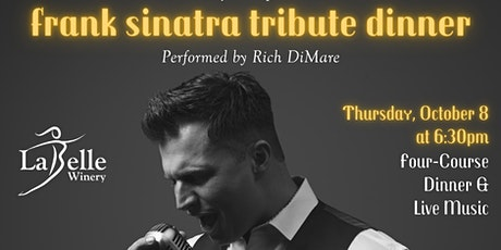 Frank Sinatra Tribute Dinner with Rich DiMare tickets