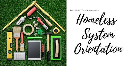 Virtual Homeless System Orientation
