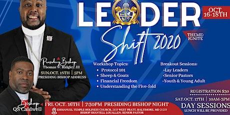 Leadershift 2020 tickets