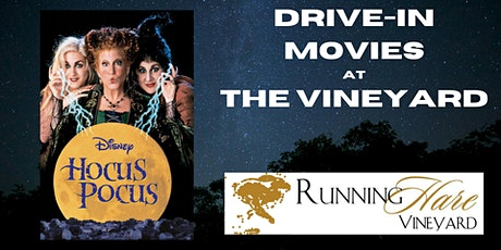 Drive In at the Vineyard- Hocus Pocus 10/30 tickets