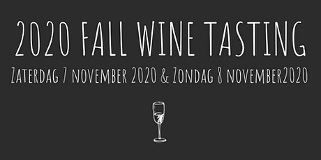 2020 FALL WINE TASTING tickets