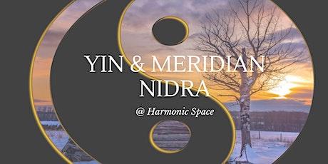 Yin & Meridian Nidra tickets