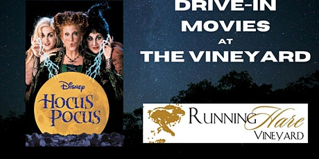 Drive-In Movies at the Vineyard- Hocus Pocus tickets