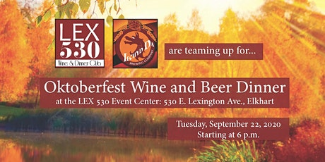 Oktoberfest Wine and Beer Dinner tickets