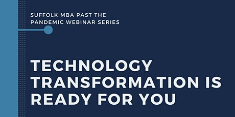 Technology Transformation is Ready For You Tickets