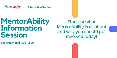 MentorAbility Information Session- Employers and Service Providers