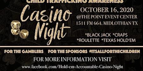 Hold'em Accountable Casino Night tickets