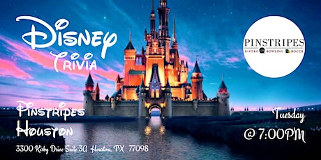 Disney Movies Trivia at Pinstripes Houston tickets