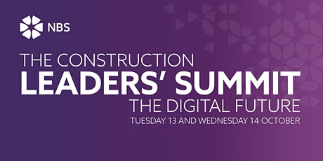 Construction Leaders' Summit: The Digital Future tickets