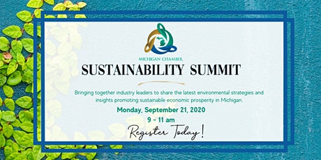 Michigan Chamber Sustainability Summit Series tickets