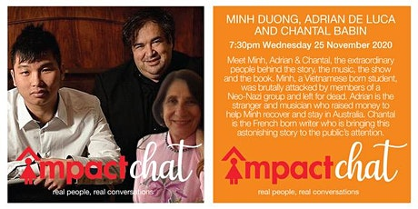 Real people, real conversations - Minh Duong, Adrian DeLuca & Chantal Babin tickets