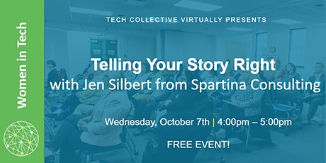 Telling Your Story Right tickets