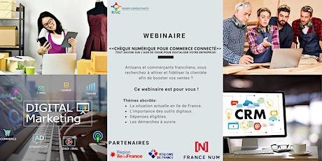 """Webinaire """"La nouvelle aide de 1500€ pour la transition numérique"""" billets"""