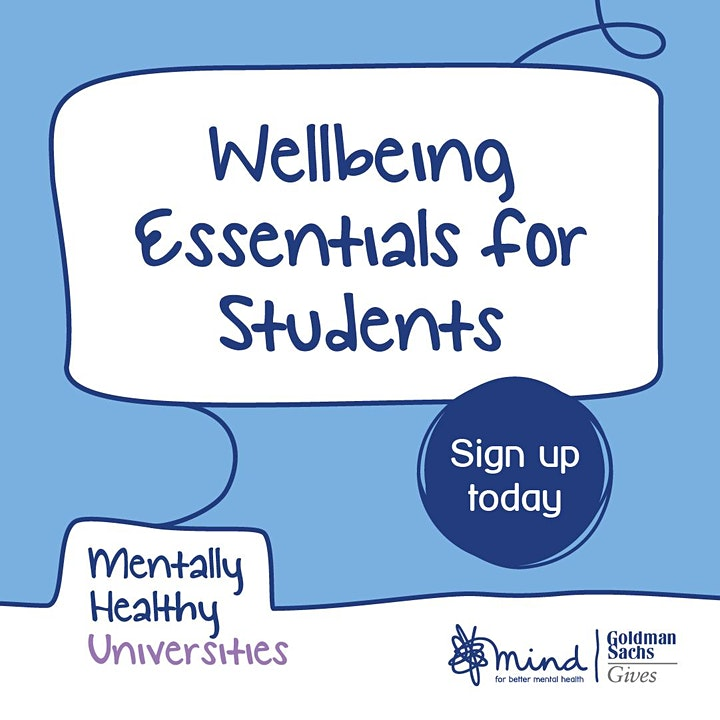 Wellbeing Essentials for Students with Bristol Mind image