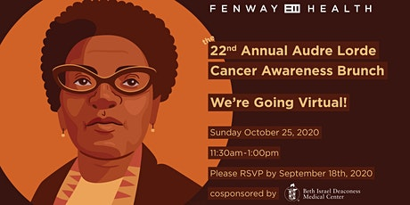 22nd Annual Audre Lorde Cancer Awareness Brunch: We're Going Virtual! boletos