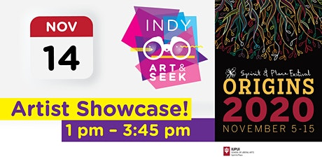 Indy Art & Seek: The Experience, part of the Spirit & Place Festival tickets