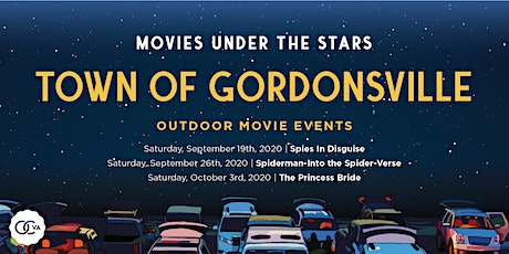Movies Under the Stars, Gordonsville VA tickets