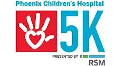 The Phoenix Children's Hospital 5K tickets