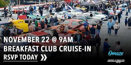 November Breakfast Club Cruise-In tickets
