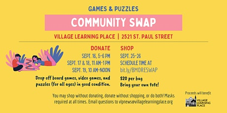 Community Swap: Games and Puzzles tickets
