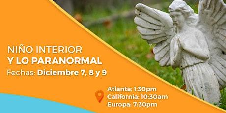"""Taller online """"El Niño Interior y lo Paranormal"""" tickets"""