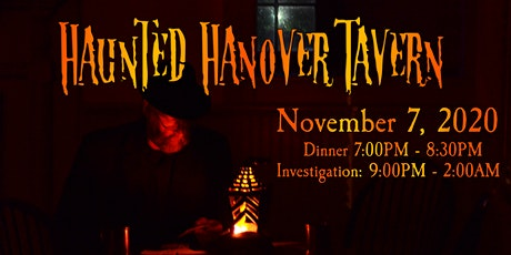 Haunted Hanover Tavern: Dinner & Investigation tickets
