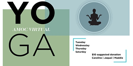 AMOC Virtual Yoga with Jaquai tickets