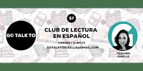 Club de Lectura en Español entradas