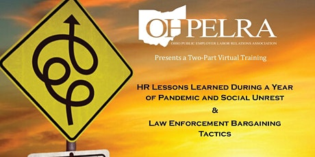 Navigating 2020: HR Lessons Learned & Law Enforcement Bargaining Tactics tickets