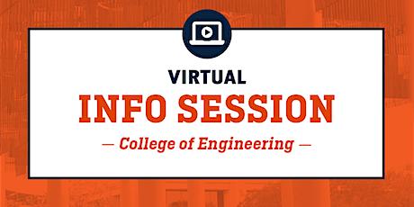 UTSA Virtual Info Session-College of Engineering tickets
