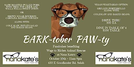 BARK~tober PAW~ty tickets