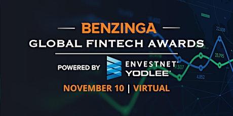 Benzinga Global Fintech Awards 2020 tickets