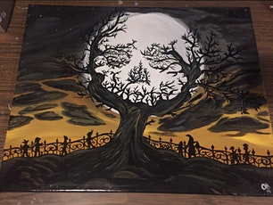 Spooky Halloween Painting with Melanie Fay tickets