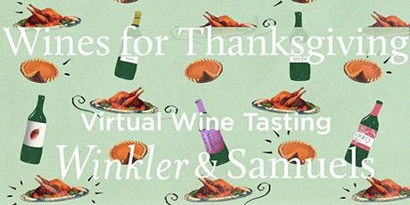 Virtual Wine Class: Wines for Thanksgiving tickets