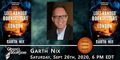 Garth Nix, The Left-Handed Booksellers of London tickets