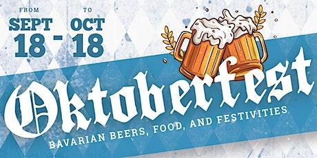 Wunder Garten's Annual Oktoberfest tickets
