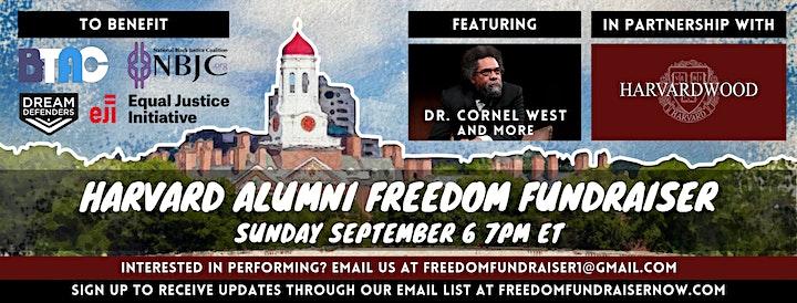 Harvard Alumni Freedom Fundraiser image