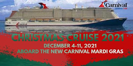 Mardi Gras Christmas Cruise 2021 tickets
