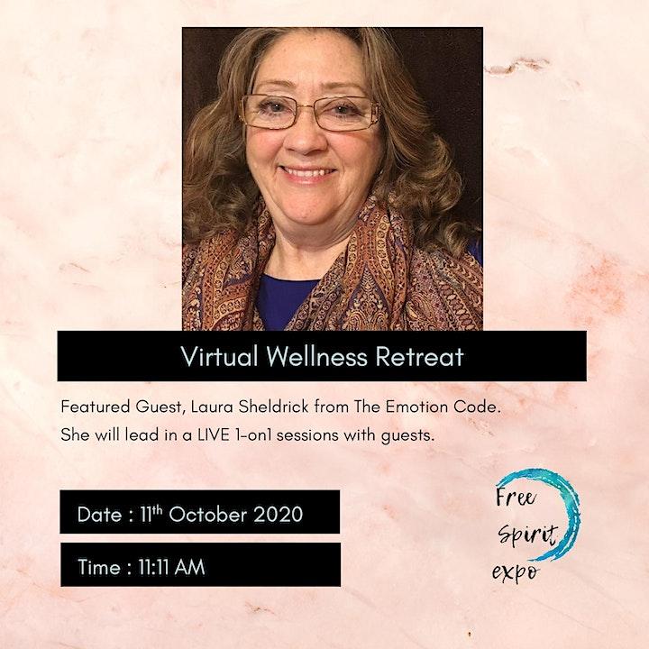 Virtual Wellness Retreat   The Emotion Code   Yoga Dance and more image